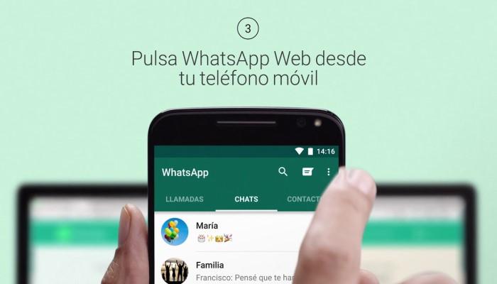 Cómo escanear un código para activar WhatsApp Web