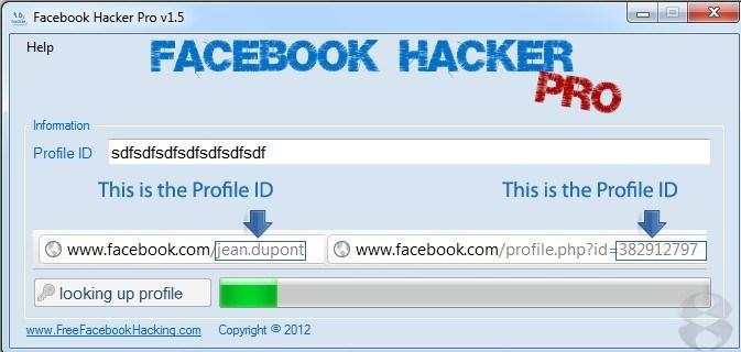 Facebook Hacker 2016 programa para hackear