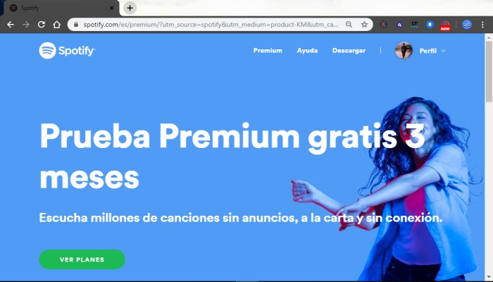 Pasos para obtener Spotify Premium gratis