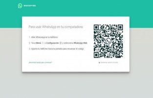 WhatsApp Web escáner de códigos