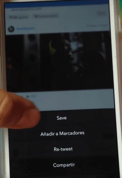 Bajar video de Instagram