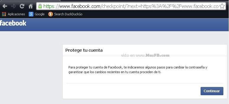 cuenta bloqueada facebook recuperacion