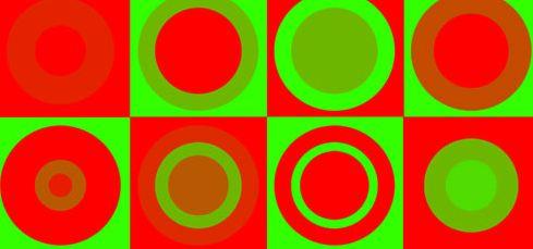 daltonico verde rojo