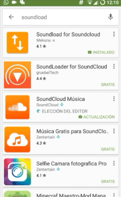 Descargar Soundload para Soundcloud