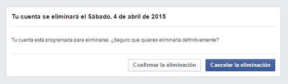 como eliminar cuenta de facebook de otra persona