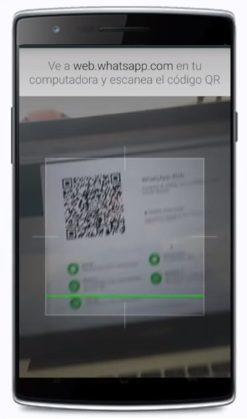 escanear whatsapp persona online