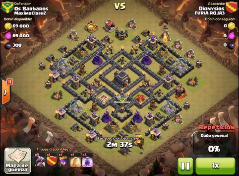 furia de clanes clash of clans