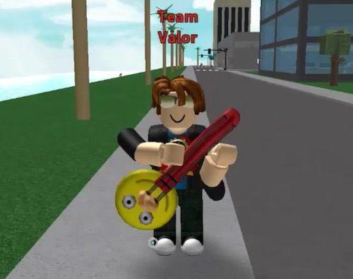 Conseguir guitarra en Roblox Pokemon Go