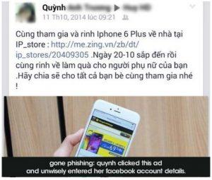 hack de cuentas con phishing y keylogger