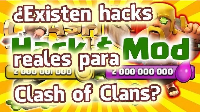 hackear clash of clans trucos
