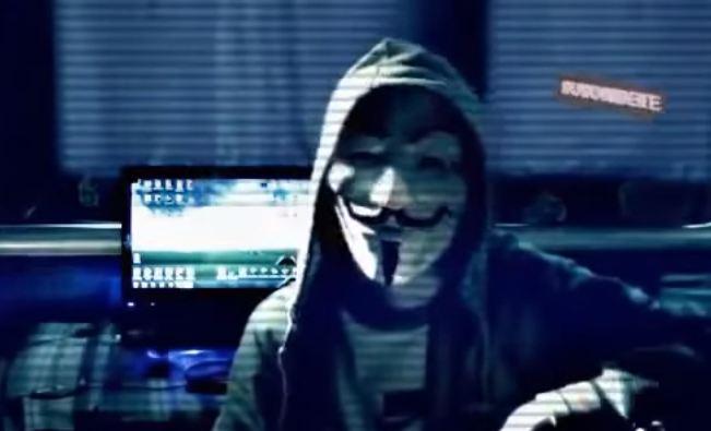 hacker en anonymous