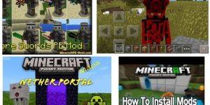 Mods para Minecraft PE gratis [Pocket Edition] Android y IOS