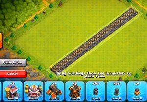 murallas invencibles clash of clans