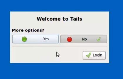 opciones tails
