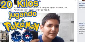 Este joven pierde 20 kilos jugando a Pokemon Go… Mira cómo
