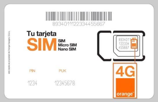 Como saber el número de un chip Orange, Claro, Telcel